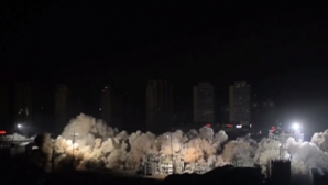 PUBLIKA WORLD: 19 blocuri locative au fost demolate în zece secunde (VIDEO)