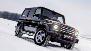 GELANDEWAGEN ELECTRIC! Legendarul SUV, condus de Terminator (VIDEO)