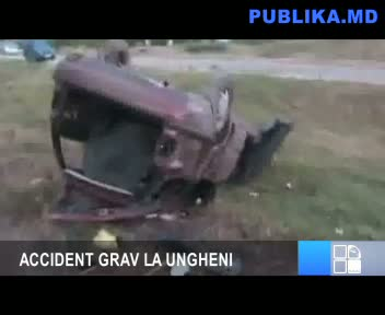 ACCIDENT GRAV LA UNGHENI 