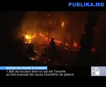 INCENDII DE PDURE &Icirc;N TENERIFE