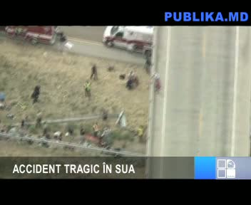 ACCIDENT TRAGIC ÎN SUA