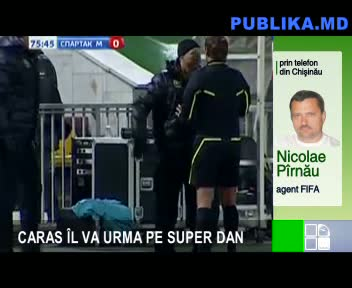 CARAS &Icirc;L VA URMA PE SUPER DAN