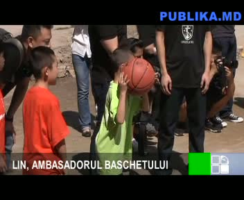 LIN, AMBASADORUL BASCHETULUI 