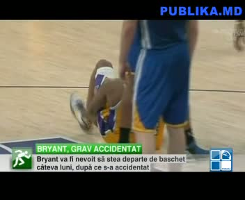 BRYANT, GRAV ACCIDENTAT