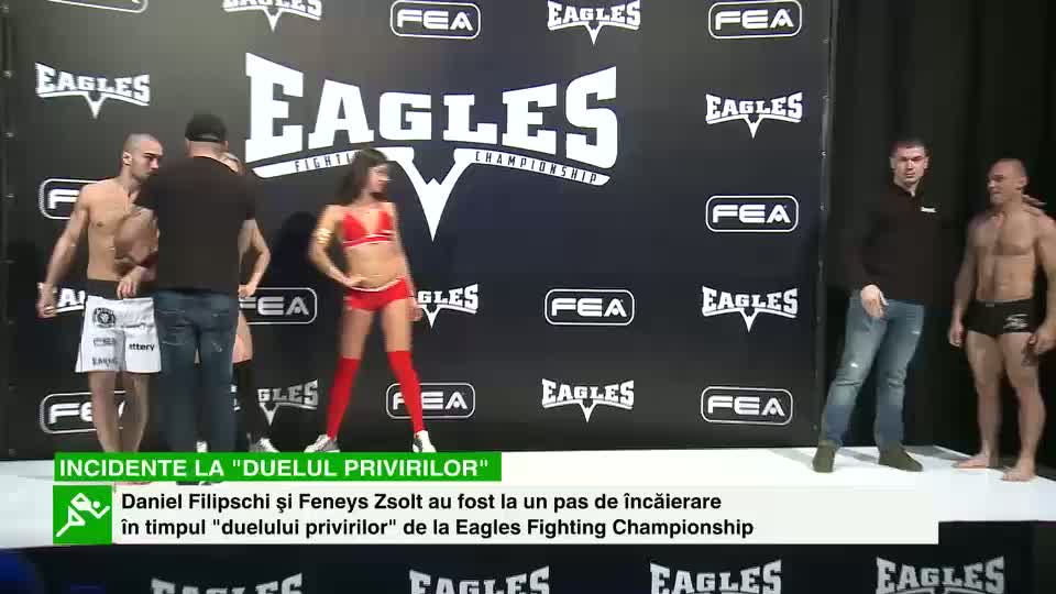 Eagles Fighting Championship: Schimb de priviri şi replici