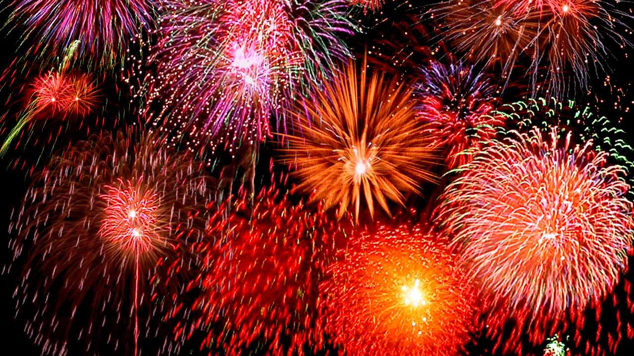 Fireworks Motion Video Background With sound fx on Vimeo