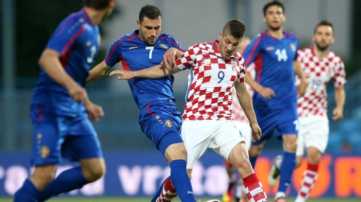 Croatia beat Moldova 1-0, in preliminary of European Championship
