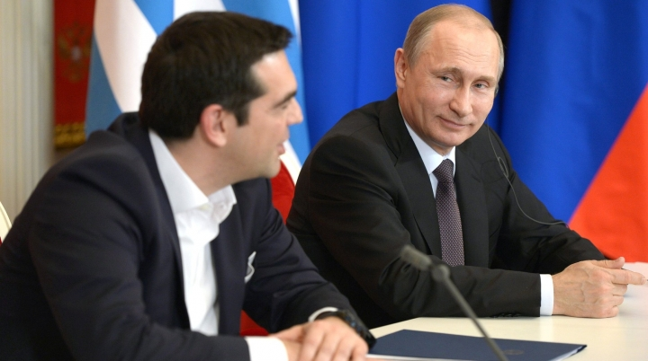 Greece's Tsipras says sanctions against Russia 'not productive'