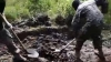 Traumatic footage shows 'Ukrainian soldiers burying a Russian separatist ALIVE'