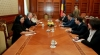 Speaker Andrian Candu meets Lower Chamber chairman Valeriu Zgonea in Bucharest