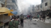 At least 8 dead in suicide bombings in Damascus suburb