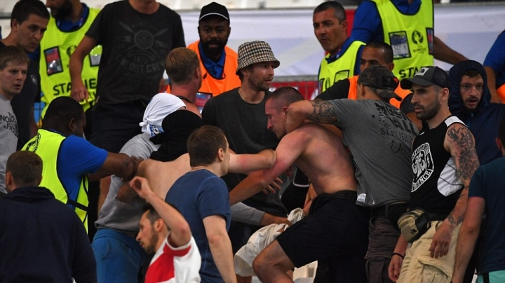UEFA threatens to BAR England from Euro 2016 if violence continues
