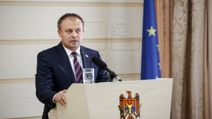 Speaker Andrian Candu remarks solidarity in Chisinau Establishment as to Transnistrian settlement talks