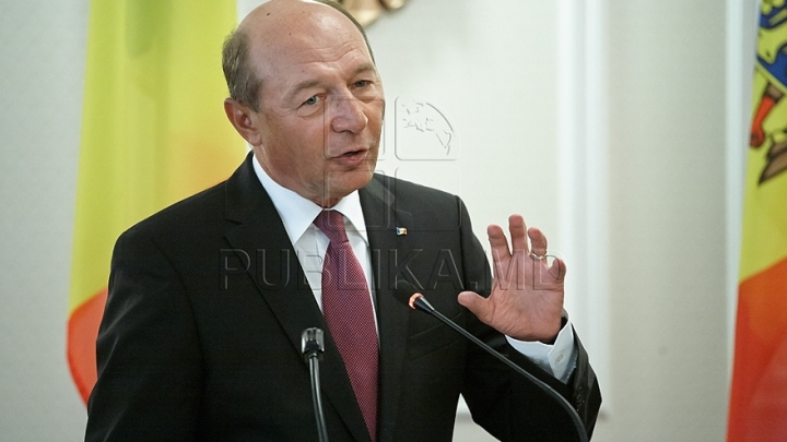 Former president Traian Basescu obtains Republic of Moldova citizenship