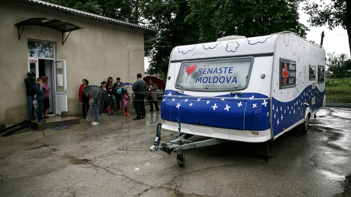 Dozens of children, adults from Ciocalteni village, Orhei district, consulted by Edelweiss' pediatricians