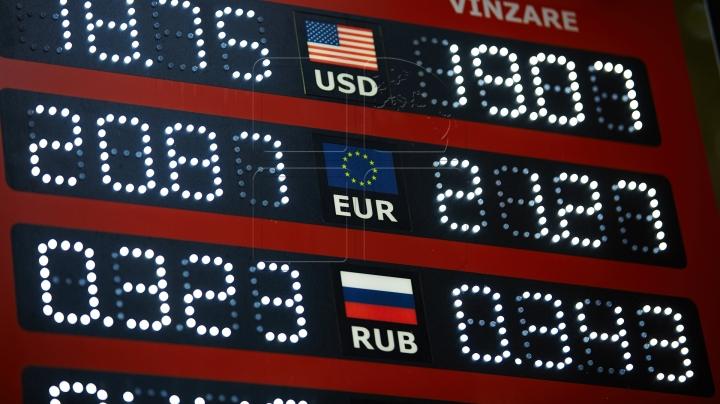 EXCHANGE RATE 10 JUNE 2016: Moldovan leu is up to euro