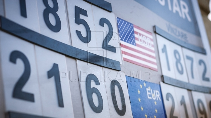 EXCHANGE RATE 9 June 2016: Moldovan leu remains steady to euro