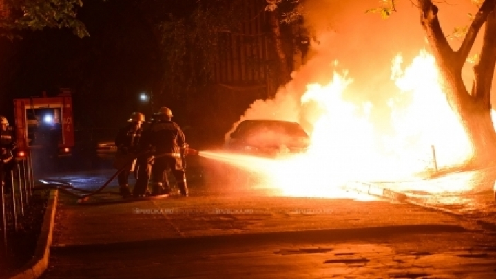 Arsonist allegedly caused fire at car repair shop in Chisinau