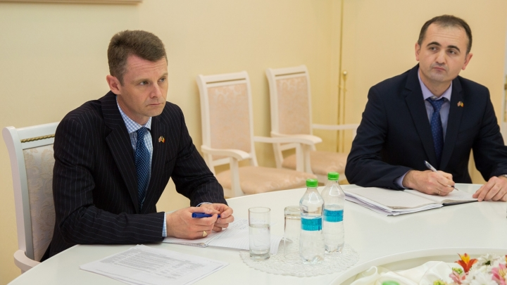 The public administration reform, discussed by the Prime Minister Pavel Filip and British ambasssador
