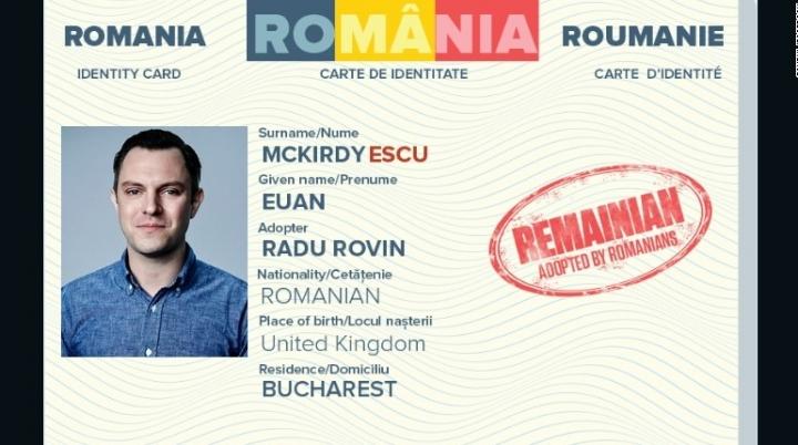 Romanians start campaign aiming at adopting Europe-loving Britons