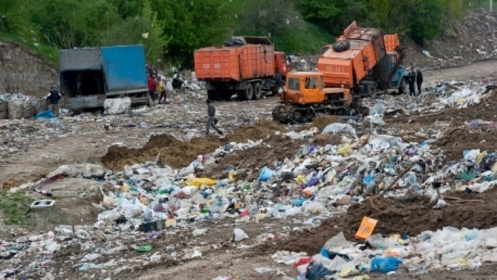 Chisinau runs risk to be overwhelmed in its garbage