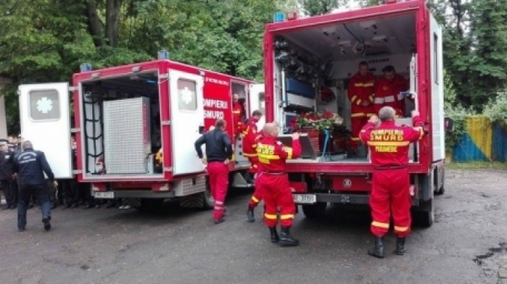 INFINITE GRIEF. SMURD heroes bodies have arrived in Iasi (VIDEO)