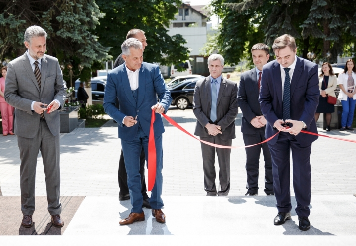 European conditions at Mother and Child Institute. Institute's main entrance, inaugurated (PHOTO REPORT)