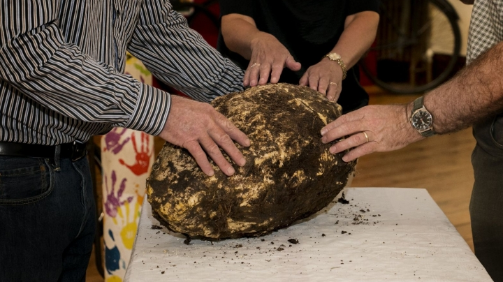 Archaeologists find 2,000-year-old chunk of butter in Ireland