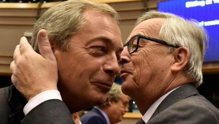 Juncker to British Europarliamentarians: 'I'm surprised you're here' and 'That's the last time'