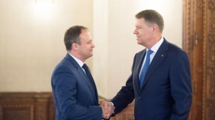 Speaker Adrian Candu meets Romanian president Klaus Iohannis