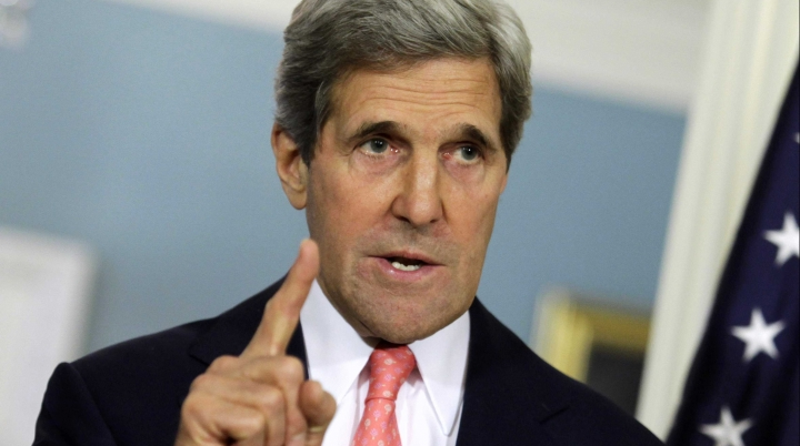 'Our patience is not infinite!' Kerry warns Russia over Syria's Assad