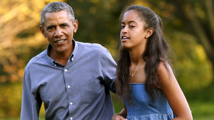 President Obama's oldest daughter, Malia, graduates from high school