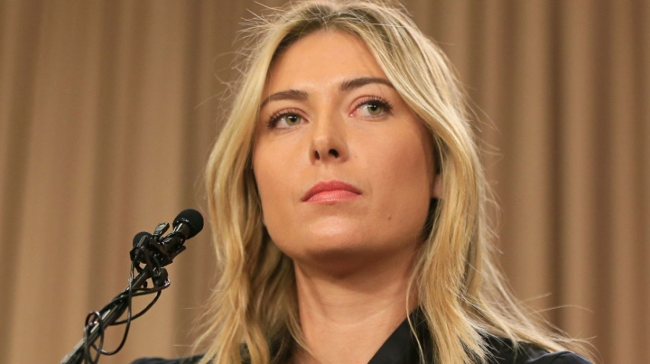 Maria Sharapova, SUSPENDED for two years, after meldonium positive test