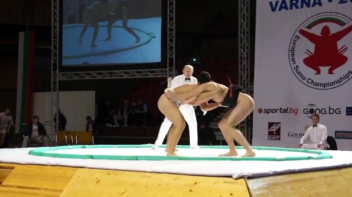 First sumo championship in Chisinau