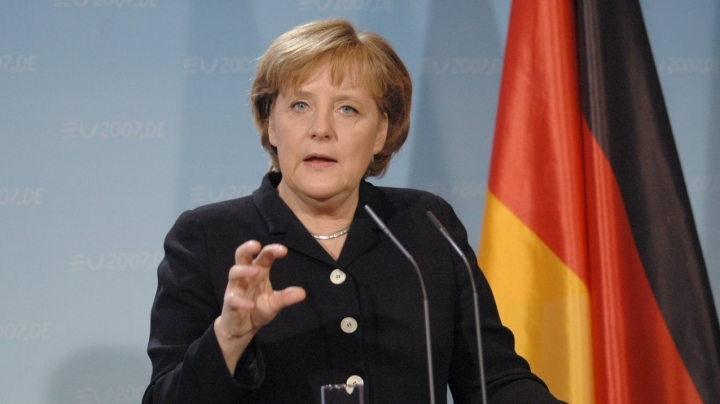 #Brexit: German chancellor refrains from urging rapid disentanglement with UK