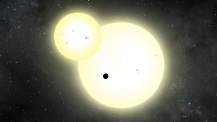 Scientists discover Jupiter-like planet orbiting two suns