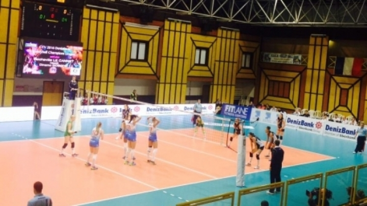 Moldovan volleyball player becomes France's champion with Saint-Raphael club