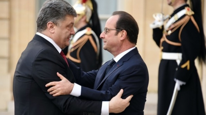 Petro Porosenko to discuss sanctions with Francois Hollande in a working visit in Paris