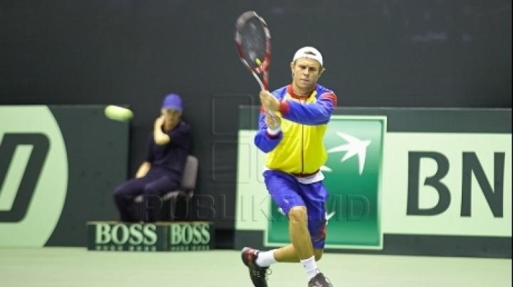 Best Moldovan tennis player Radu Albot wins first round at Fergana Challenger
