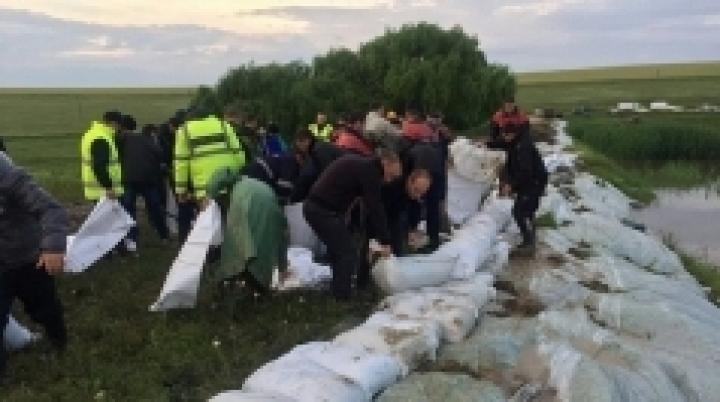 Emergency measures undertaken by authorities to help villagers from Iargara