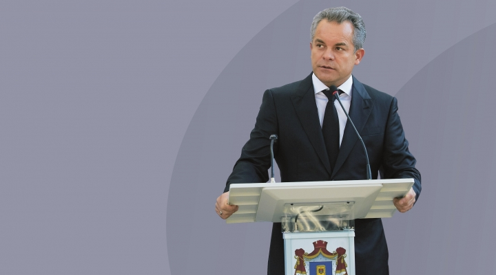 PDM first deputy president Vlad Plahotniuc ASSURES Filip Government enjoys ruling Coalition's full support