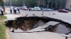 HUGE SINKHOLE forms in Chisinau (PHOTO)
