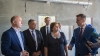 Moldovan prime minister visits construction of Ungheni justice palace