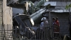 Helicopter crashes on a roof in Indonesia killing three people and injuring other three