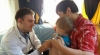 'Moldova's Rebirth' pediatric office in Viişoara. Doctors examine scores of children
