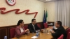 PDM president Marian Lupu discussed with high-rank officials from the Italian Democratic Party