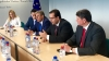 Marian Lupu and Mihai Ghimpu had a meeting with European officials in Brussels