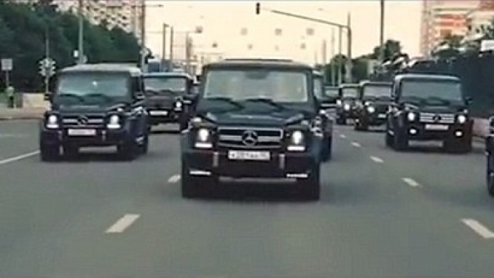 Russian spy service will punish trainees who drove through Moscow to celebrate graduation