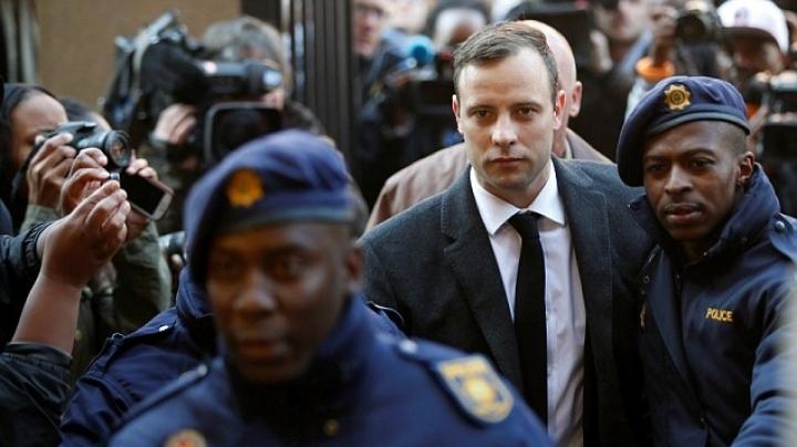 Oscar Pistorius is sentenced to SIX YEARS for killing Reeva Steenkamp