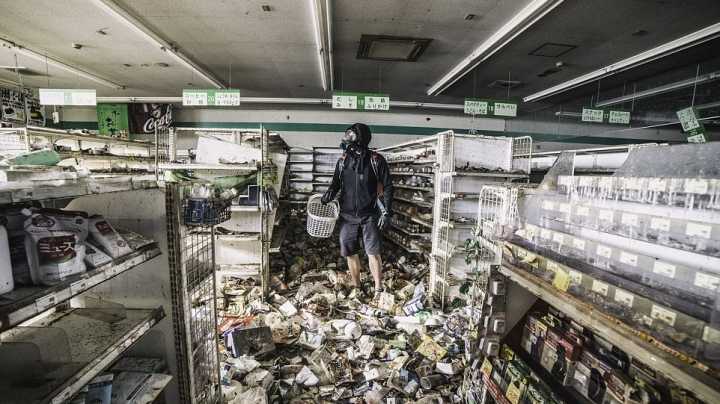 Creepy images inside Fukushima's exclusion zone five years after the nuclear disaster